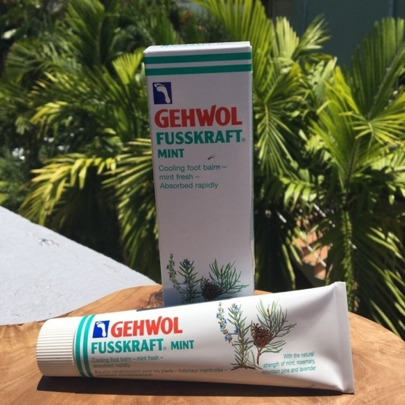 Gehwol Other - New Gehwol Fusskraft Mint Cooling Balm 2.6 oz/75ml